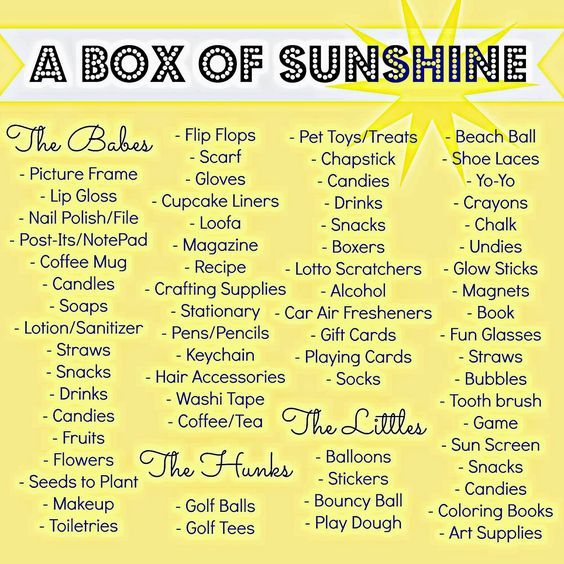Send Someone A Box Full Of Fun Things Great For Kids Or Adults Brighten Someon
