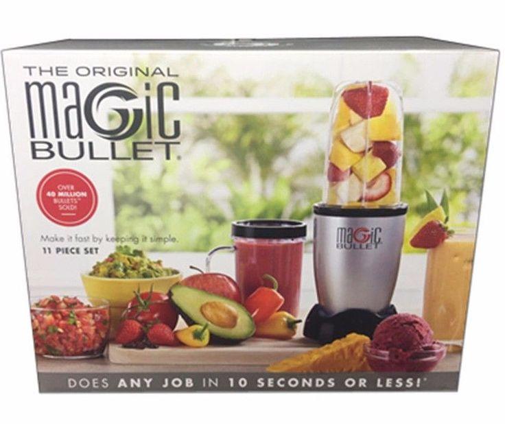 Magic Bullet 11 Piece Set Blender & Mixer Small #MagicBullet