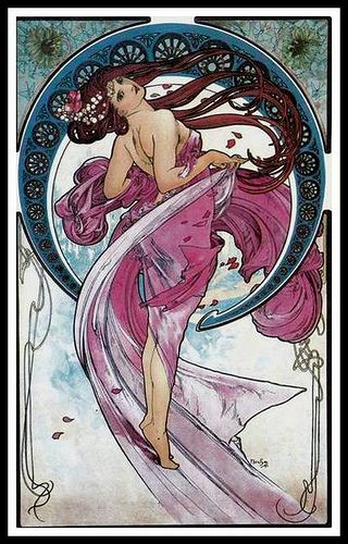Mucha Danse 1898 by mpt.1607, via Flickr