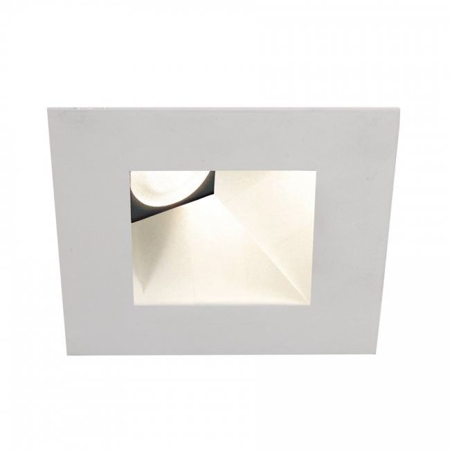 "Tesla Square Adjustable 50 Degree Angle 3000K 2.88"" LED Recessed Trim"