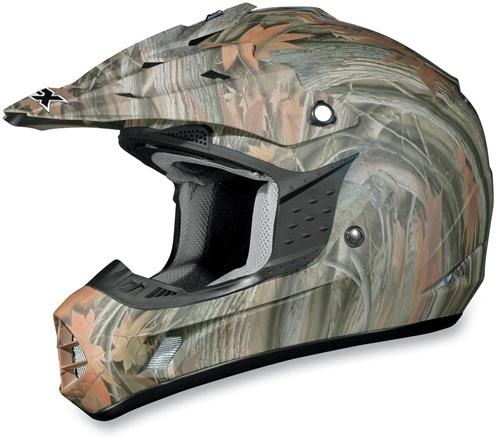 AFX FX-17 Helmet, Camo, Size: Sm, Helmet Type: Offroad Helmets, Helmet Category: Offroad, Primary Color: Brown, 01101817