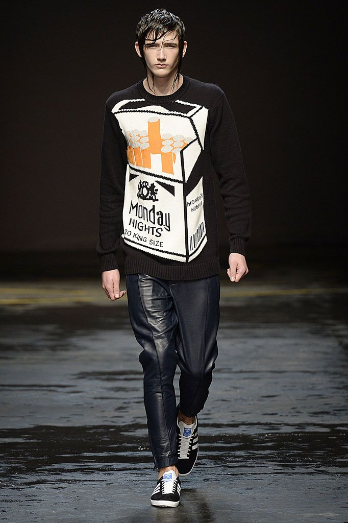 Christopher Shannon, AW14 #LCM