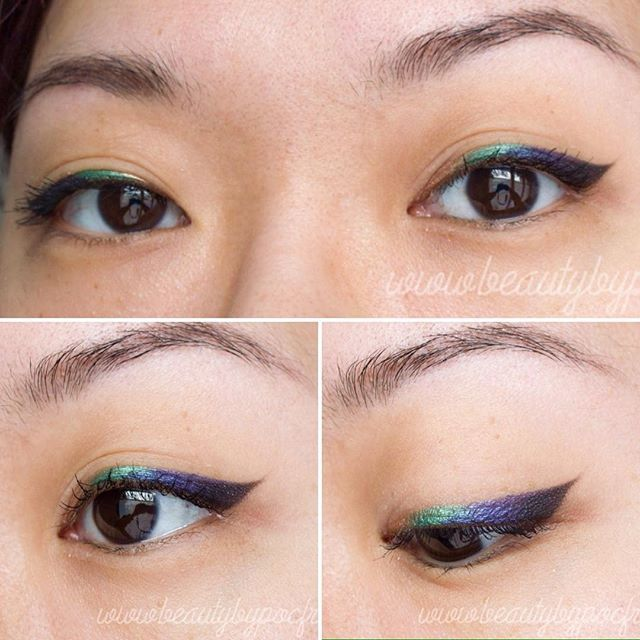 Multi-colored eyeliner, achieved with Urban Decay's Vice 4 :) #beautyblogger #bblogger #vice4 #urbandecayvice4 #urbandecayfrance #urbandecay #liner #eyeliner #makeup #beauty #colorful