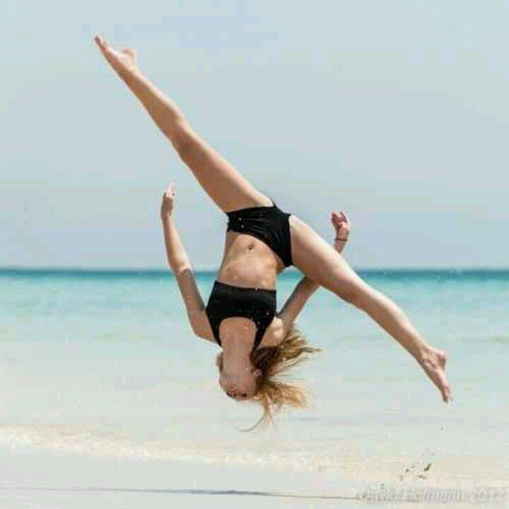 Flipping on the beach cx