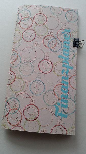 """Wochenplaner - NEU """"Finanzplaner""""  Traveler´s Notebook Regular - ein Designerstück von Prinzidee bei DaWanda"""