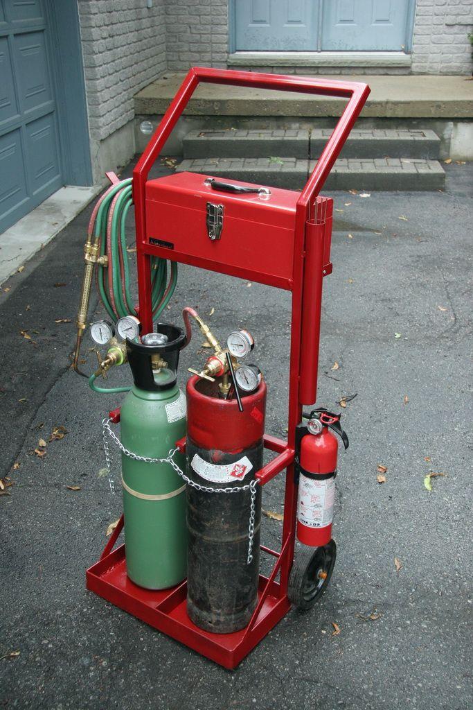 Image result for gas welding cart plans