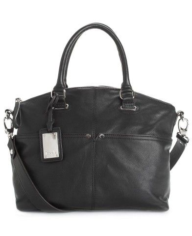 Tignanello Polished Pockets Leather Convertible Satchel - Tignanello - Handbags & Accessories - Macy's