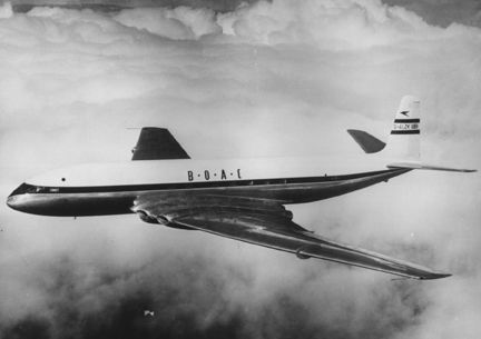 I would fly around the world in a DeHavilland Comet.