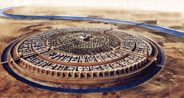 Baghdad fondé par Abu Jafar al-Mansur