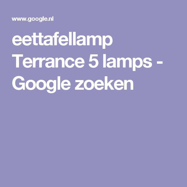 eettafellamp Terrance 5 lamps - Google zoeken