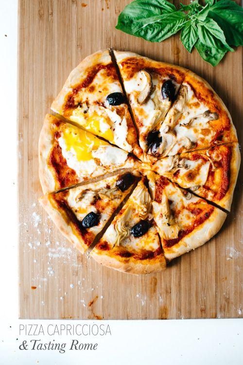 Pizza Capricciosa & Tasting Rome