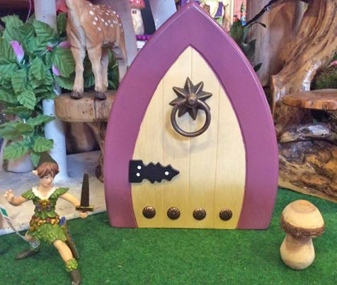 Enough already about the Fairies. Don't forget the Elves with this cute door from Goldfish Gifts which comes in a linen bag http://www.axistoys.com/Goldfish-Stockists