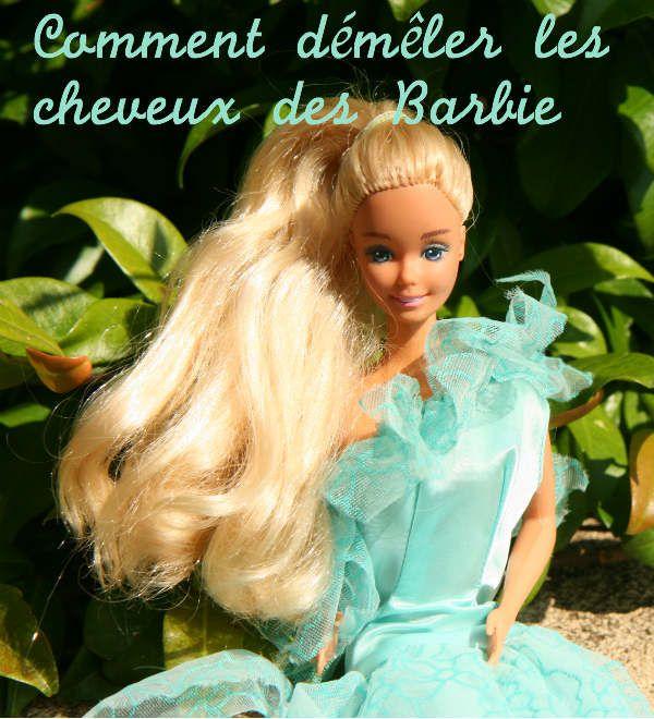 Comment démêler les cheveux des Barbie