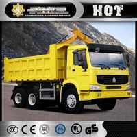 Sinotruk Howo ZZ3257N4347A 371HP 25 ton sino truck 6x4 tipper truck