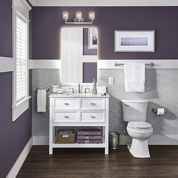 Purple And White Room Decor