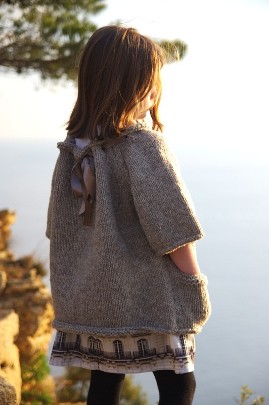 Une Sardine à Rio — Manteau pull / Jumper coat