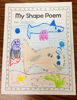 T.G.I.F! - Thank God It's First Grade!: Poetry Month!