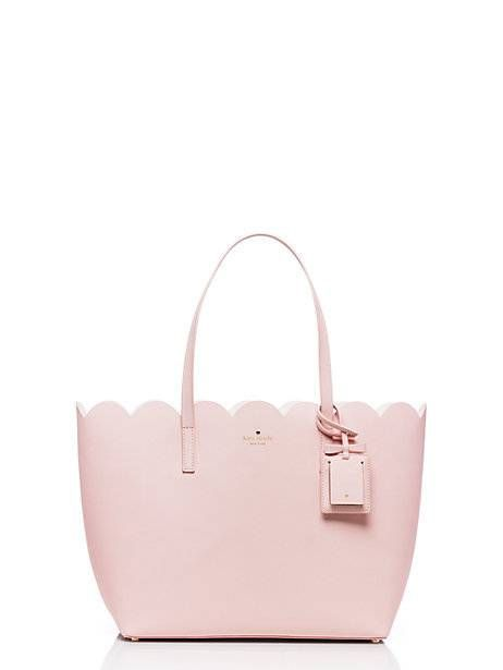 $298 Kate spade...!  LOVE the scallop top edge but would prefer it in a different color