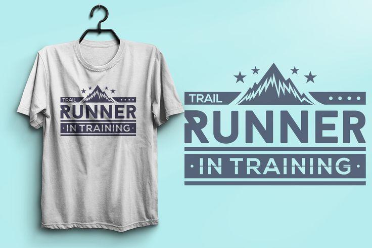 Trail Runner In Training