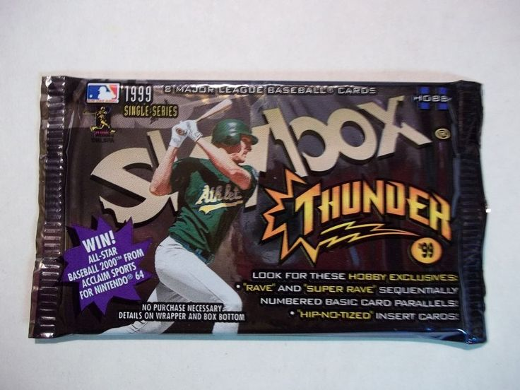 1999 Skybox Baseball Card Pack!!! MLB #MLBCollectible