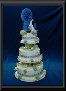 Stargate wedding cake… I NEED THIS RIGHT NOW