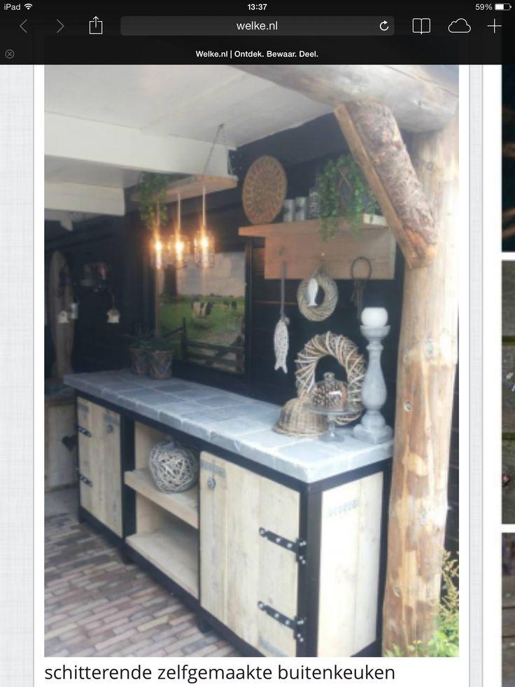 Keuken voor binnen en buiten