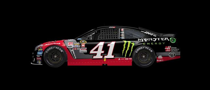 2016 Darlington throwback paint schemes | Kurt Busch No. 41 Stewart-Haas Racing Chevrolet