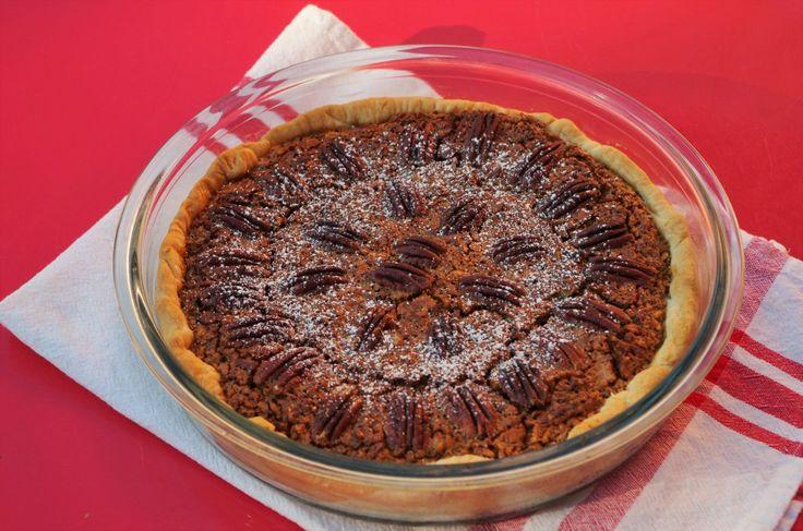 Pecan pie ou tarte aux noix de pécan américaine