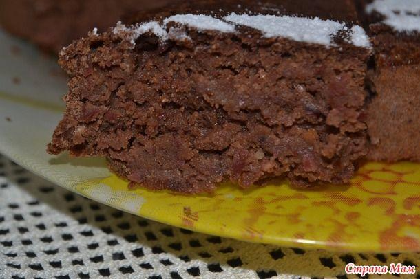 Torta di cioccolato arancione a base di fagioli