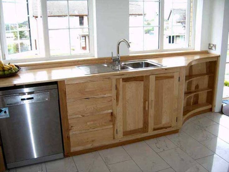 15 best Free standing kitchen cabinets images on Pinterest | Kitchen ...