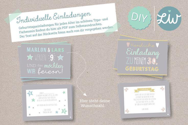 individuelle einladung im postkartenformat zum geburtstag mit wunschzahl und deinem eigenen text. Black Bedroom Furniture Sets. Home Design Ideas