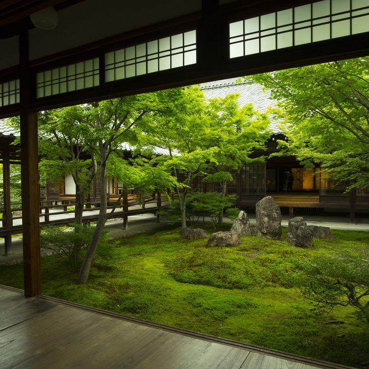 """65 Philosophic Zen Garden Designs: Iesuuyr: """"Kyoto, Japan"""