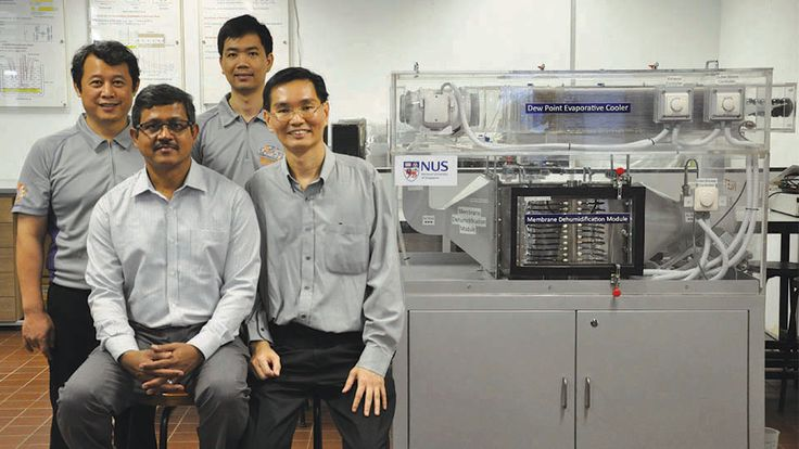 #Singapore #NUS researchers pioneer water-based, eco-friendly and energy-saving #AirConditioner