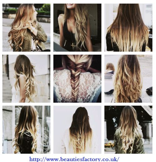 Do you ♥ ombre hair? We ♥ it from http://www.beautiesfactory.co.uk/  Good Night Girls!