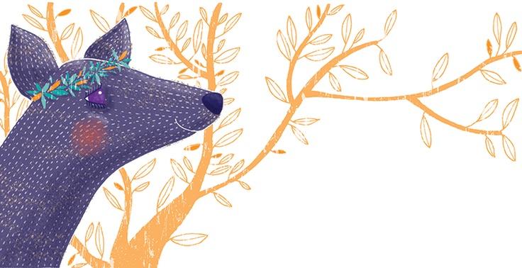 CAROLINA RIOS - Ilustración del cuento la princesa murta - Chile