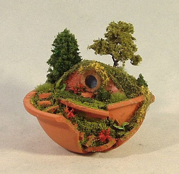 mini hobbit gardens - Google Search