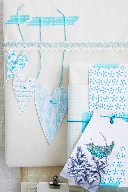 pretty washi tape Gift Wraps
