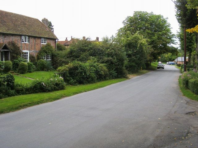"""Church End, Bledlow. The cottage on the left featured as Miss Marple's home in the Agatha Christie's Marple (TV series) episodes """"The Mirror Crack'd from Side to Side"""" (2010) and """"The Pale Horse"""" (2010)."""