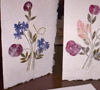trabajos realizados con flores y hojas secas - Buscar con Google