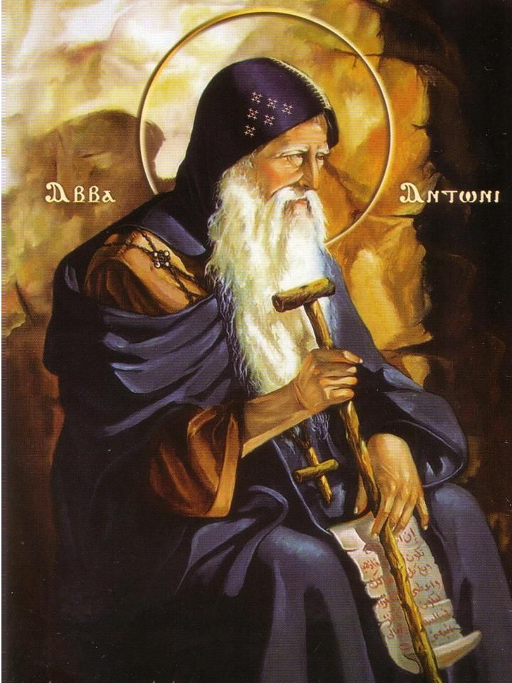 Saint Of The Day 17 January St Anthony Abbot C 251 356 Anthony The Great Saint Anthony Catholic Saints