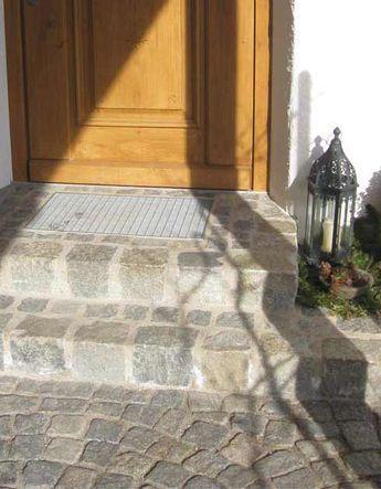 Feldmeier Eingangsstufen zur Haustür