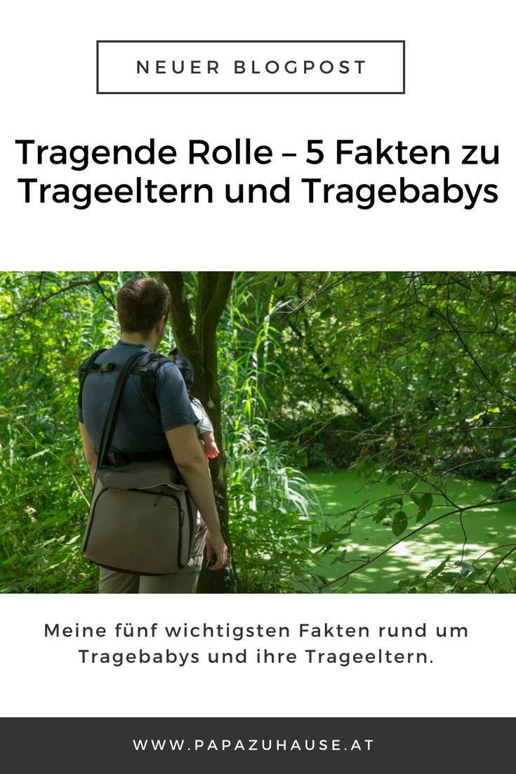 Meine fünf wichtigsten Fakten rund um Tragebabys und ihre Trageeltern. #tragebaby #trageeltern #tragepapa #tragemama #unterwegsmitbaby #blogpost #papazuhause