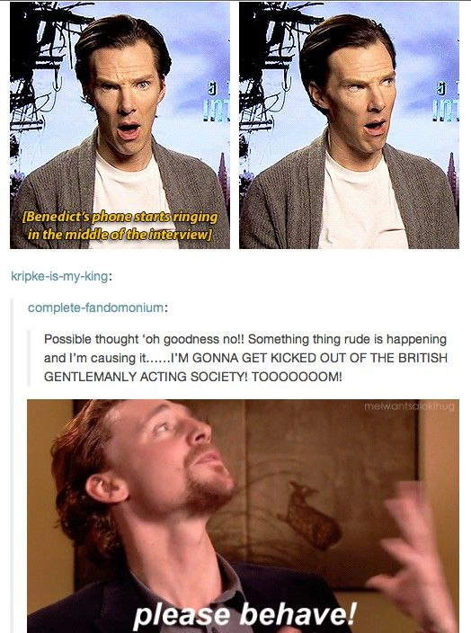 British Gentlemanly Acting Society's two greatest members... #Cumberbatched & #Hiddlestoned *dies*