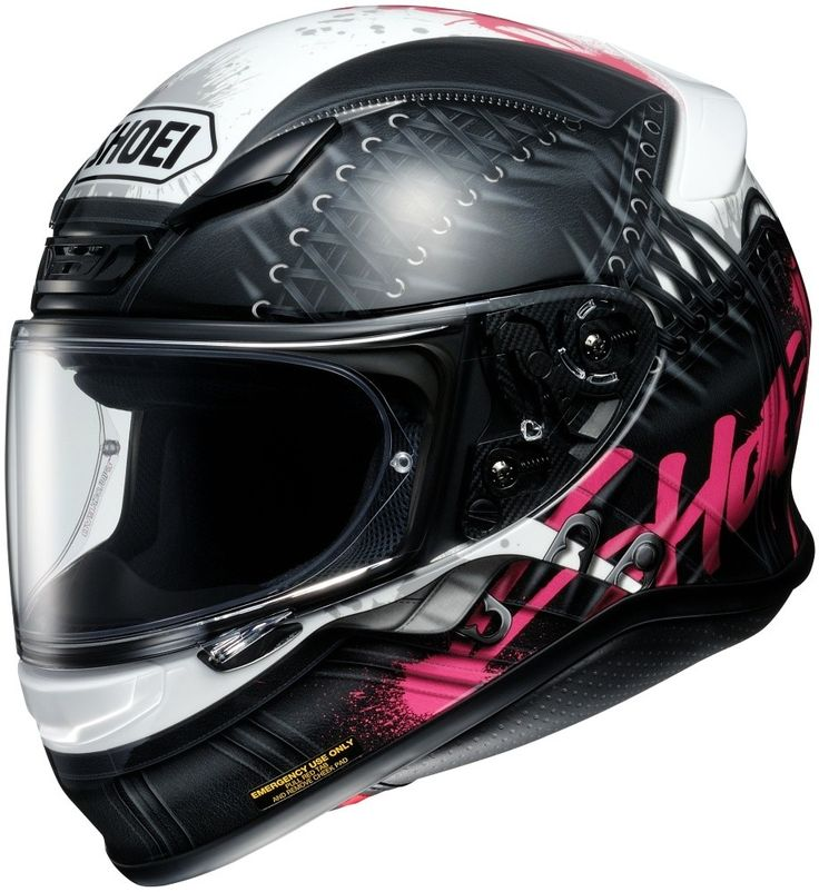 Shoei RF-1200 Seduction Womens Street Riding DOT Motorcycle Helmets