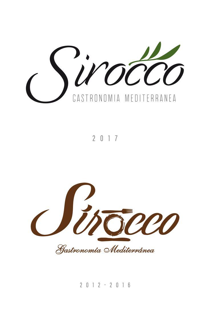 Restaurante Sirocco - Branding restyling