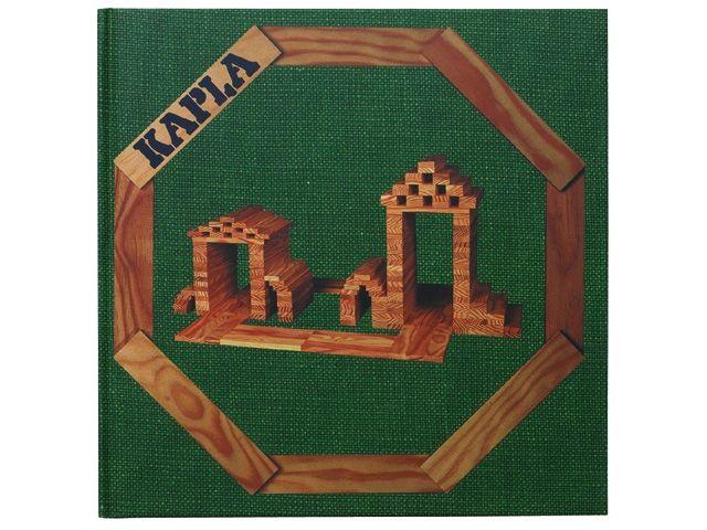 Kapla 3: architectuur en structuren voorbeeldenboek http://www.kgrolf.nl/product/1320/3012106_16929_1620_252_30/kapla-3-architectuur-en-structuren-voorbeeldenboek.aspx
