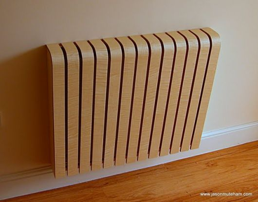 Jason Muteham Radiator Cover Front in Hall