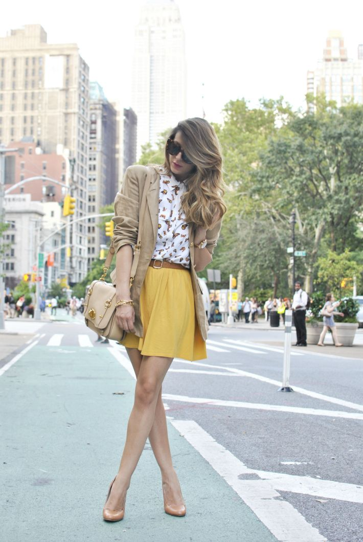Scent of Obsession - fashion blogger: First day in New York - NYFW S/S 2013