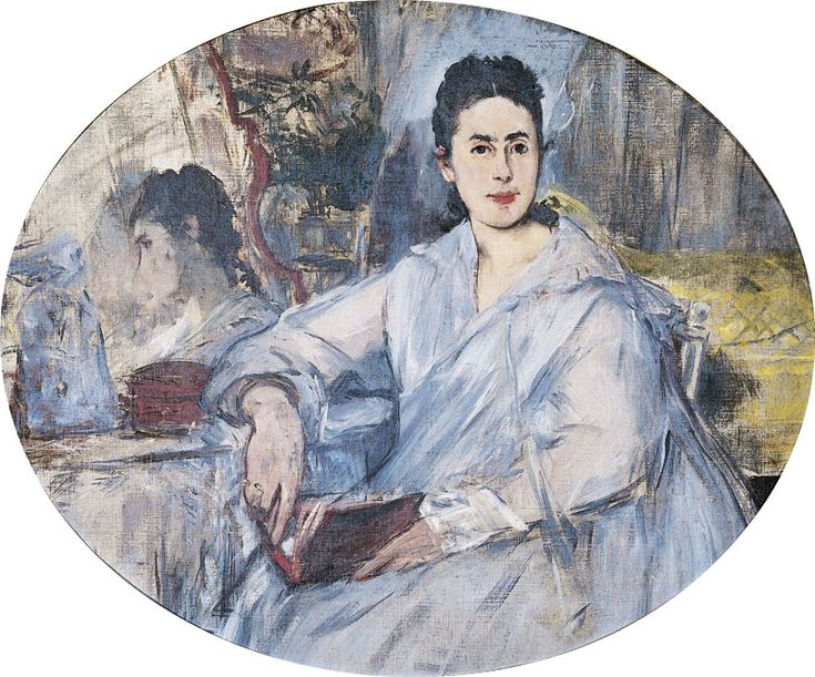Marguerite de Conflans, later to be Mrs d'Angely (1875).Edouard Manet (French,1832-1883). Oil on canvas.Musée des Augustins, Toulouse.