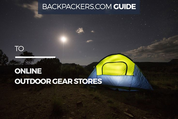 backpackers guide to online outdoor gear stores